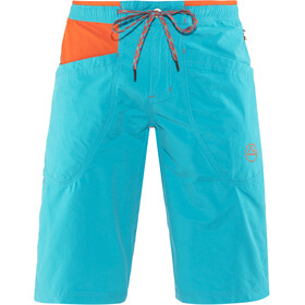 La Sportiva Leader Shorts Herre tropic blue/tangerine